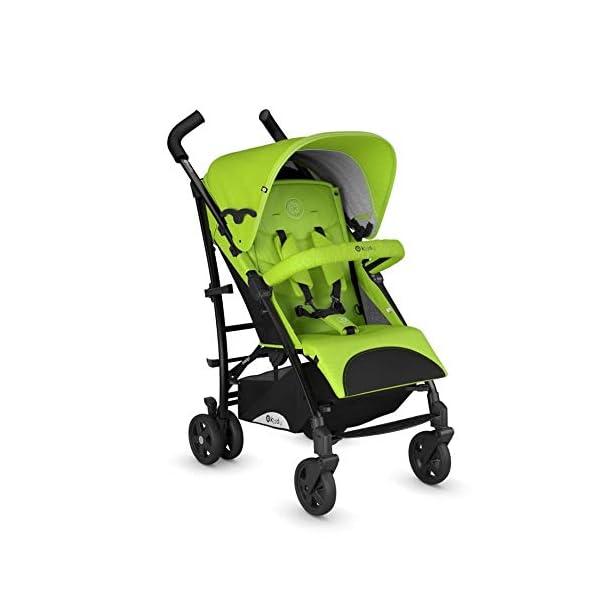Kiddy Sportwagen Evocity 1 inkl. Getränkehalter Lime Green Kiddy  4