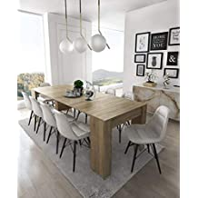 Amazonfr Table Salle A Manger Extensible