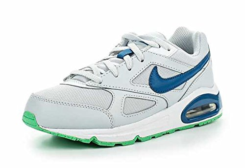 Nike Shekers Jungen Air Max IVO (PS) Pure Platinum-Industril Blue-White Blue