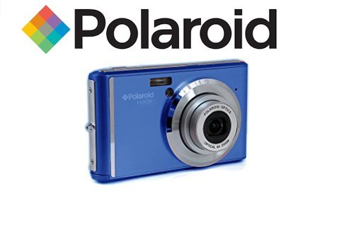 Polaroid IX828 cámara digital 20 megapíxeles, zoom óptico de 8x, 20MP, batería de litio, cámaras digitales mejores compras fácil de usar, ideal para niños o adultos (azul)
