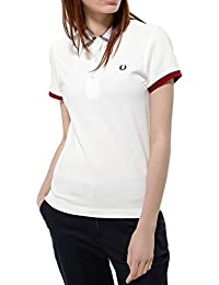Fred Perry - Polo Mujer Fred Perry cuello Tartar