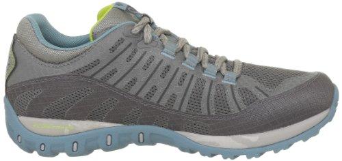 Columbia Peakmaster Od, Chaussures de randonnée femme Gris (Boulder/Fresh Kiwi/003)