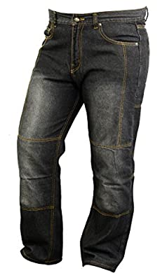 Motorbike Kevlar Lined Jeans with Armours Abrasion Resistant