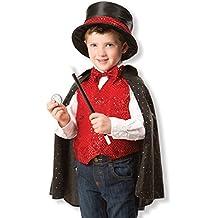 Melissa & Doug - Disfraz de mago para niños (18508), 3-6 años