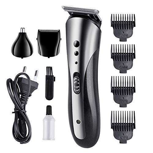 Multifonction hommes tondeuse à cheveux sans fil rechargeable Kit de toilettage profession rasoir nez cheveux barbe tondeuse pour enfants utilisation de la famille