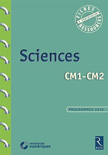 Sciences CM1-CM2 (+ CD-Rom) par Pascal Chauvel