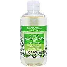 Phytofarma Aceite de Almendras con Aloe Vera - Paquete de 2 x 250 ml - Total