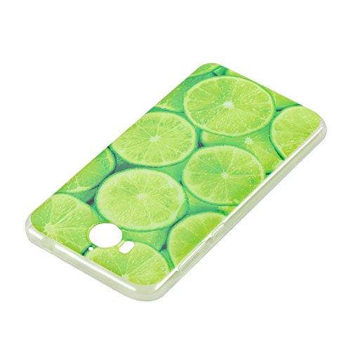 ARTLU® Huawei Y5 2017 / Y6 2017 Coque, Huawei Y5 2017 / Y6 2017 Housse, Huawei Y5 2017 / Y6 2017 Etui, Motif coloré Ultra-Mince Thin Soft Silicone Etui de Protection pour Souple Gel TPU Bumper Poussie A1