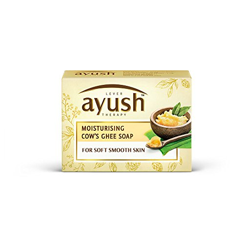 Ayush Moisturising Cow's Ghee Soap, 100g