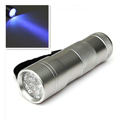 Moppi 12 LED Ultra Violet UV Black Light LED Taschenlampe