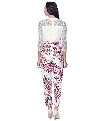 JAI SHREE BEBO Women Regular Fit Crepe Jumpsuit (JSB0005_$P_White_)