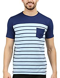 Wexford Men's Cotton Printed Round Neck Half Sleeve Casual T-Shirt