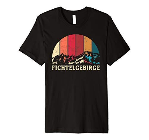 Fichtelgebirge T-Shirt Geschenk Wandern Berge