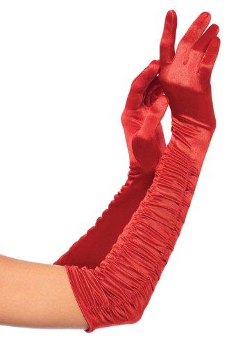 Leg Avenue 2042 - Ellenbogenlange Satin-Handschuhe (Satin-abend-handschuhe Ellenbogen Länge)