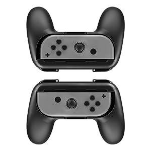 DOBE Controller Grip 2Pcs für Nintendo Switch Joy-Con Neropoke langlebig Verschleißfester Joy-Con Controller Griff für Nintendo Switch (Grün)