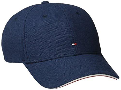 tommy-hilfiger-mens-pique-baseball-cap-blue-navy-blazer-one-size-manufacturer-size-os