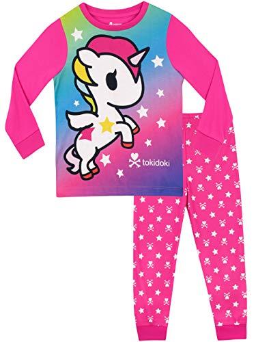 Tokidoki pigiama a maniche lunghe per ragazze unicorno rosa 10-11 anni