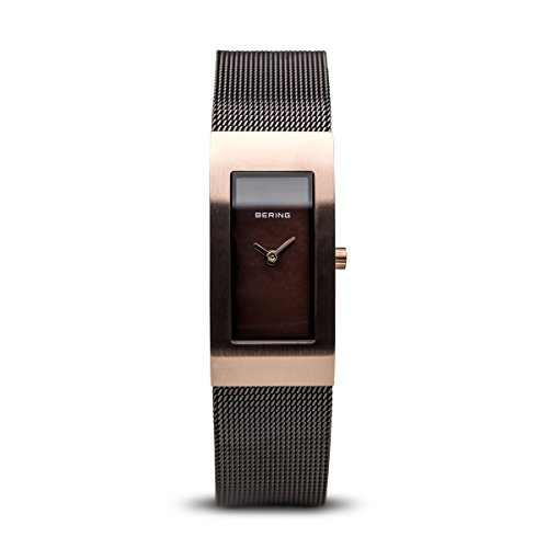 BERING Damen-Armbanduhr Analog Quarz Edelstahl 10817-262