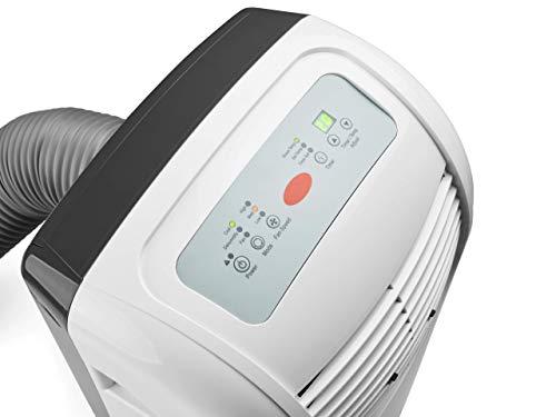 Climia CMK 2900 mobile Klimaanlage, 3-in-1 Klimagerät - Aircondition, Ventilator und Luftentfeuchter