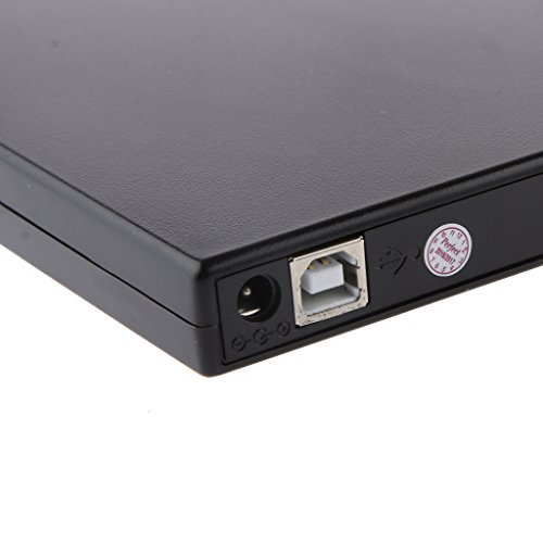 Sharplace USB 2.0 Externe CD±RW CD-RW DVD-ROM Combo Drive CD-ROM DVD-Lesegerät externes CD-Laufwerk Computerlaufwerk Inkl. USB-Datenkabel und Stromkabel