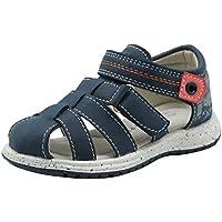 674e29dda70db Apakowa Toddler Little Boys Summer Closed Toe Gladiator Beach Sandals Kids  Velcro Sports Sandals