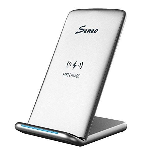 Seneo-Cargador-inalmbrico-de-carga-rpida-Cargador-inalmbricao-Qi-Cargador-inalmbrico-compatible-con-Samsung-Galaxy-Nokia-Lumia-HTC-Moto-Google-Nexus-etc