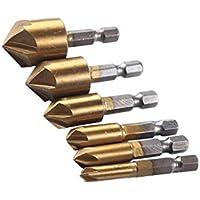 18 mm B Blesiya Vier geschlitzte Holzbohrer Stanzbohrer Holzschlangenbohrer 1//4 Schaftdurchmesser