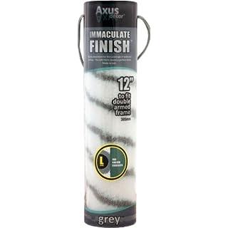 Axus Décor AXU/RG12L Finish-Überzug für Farbroller, grau