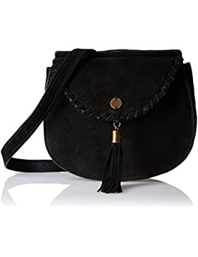 Superdry Ring Damen Cross Body Bag Schwarz