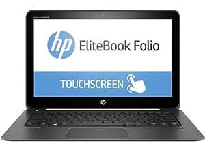 HP EliteBook Folio 1020 (T4H47EA) 31,75 cm (12,5 Zoll QHD UWVA) Notebook (Intel Core M5Y71, 8GB RAM, 512GB SSD, Intel HD-Grafikkarte 5300, Windows 10 Pro 64) schwarz