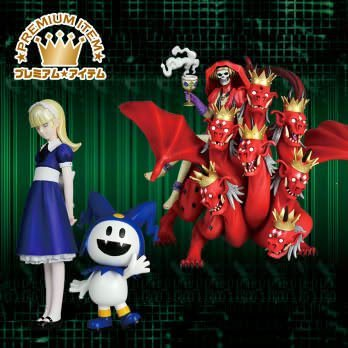 Shin Megami Tensei Real Figure 4 Total (set of 2) [Her mother lot Alice & Jack Frost] (japan import)