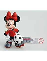 Figurine - Disney - Football - Minnie Maillot Rouge - Bullyland