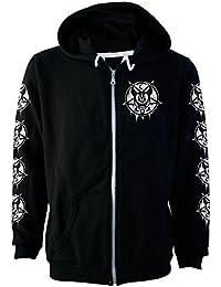 Darkside, Mickey 666 Fleece Kapuzenjacke