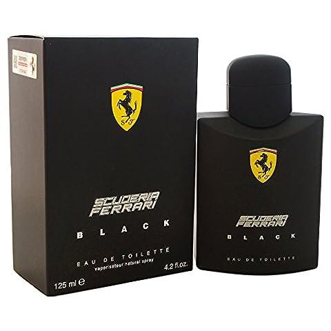 Ferrari Black Eau De Toieltte Spray for Him 125ml