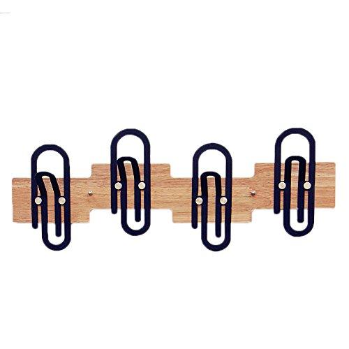 LIYONG Wandgarderobe Haushaltslagerregal Für Wohnzimmer/Schlafzimmer/Bad/Küche Und Flur Dekoration Holzständer