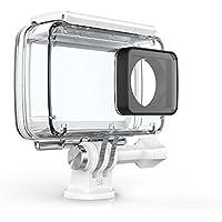 Pasa el ratón por encima de la imagen para ampliarla YI Carcasa resistente al agua para 4K Cámara de acción (accesorios oficiales), color blanco