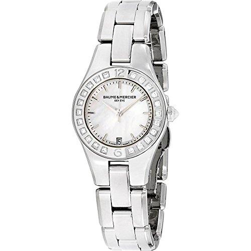 Baume & Mercier Linea Damen-Armbanduhr Diamant 27mm Batterie 10078
