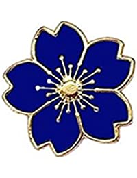 Cdet Femme Bijoux Broche Epingle en Alliage Petite forme de fleur corsage  brooch de décoration Mode b6bdef4783c