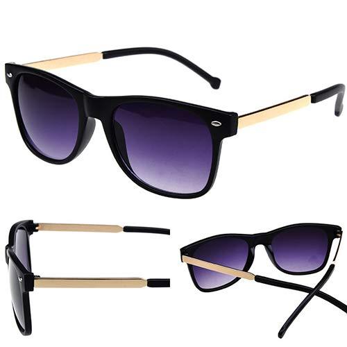 Man9Han1Qxi Mode Unisex Sonnenbrille stilvolle niet Kunststoff Outdoor Fahren Shades Brille Anti uv Sonnenbrille Sand Black