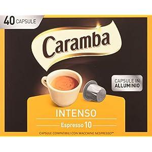 Caramba Capsule Caffè - 5 Confezioni da 40 Capsule [Totale: 200 Capsule]