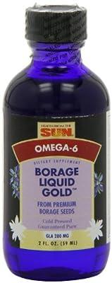 Health From The Sun, Borage Liquid Gold, 2 fl oz (59 ml)