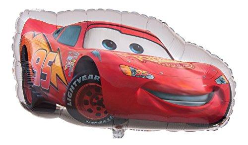 Ballongruesse - Heliumballon Cars Lightning McQueen - 75cm Lieferung heliumgefüllt im Karton - Disney Film
