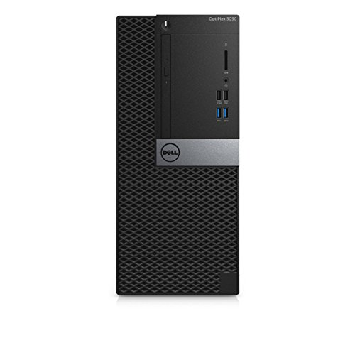 Dell Optiplex 2018 New 5050 MT - Intel Core i5-7th Gen || 4 GB DDR-4 RAM || 1TB HDD || Windows 10 Pro || DVD+RW || with 3 Years Dell Warranty || Without Monitor