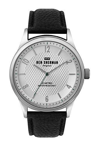 Ben Sherman Hommes Analogique Quartz Montre avec Bracelet en Cuir WB025B