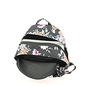 41WYvaHWXML. SS300  - Rip Curl Double Dome Desertflower Mochila Tipo Casual, 42 cm, 24 litros, Negro