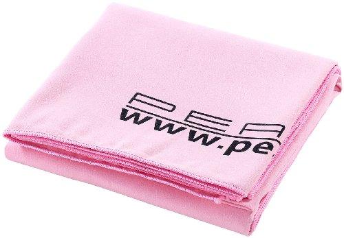 PEARL Mikrofaserhandtücher: Extra saugfähiges Mikrofaser-Badetuch, 180 x 90 cm, rosa (Microfasertuch Badetuch)