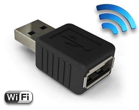 AirDrive Keylogger Pro - Hardware USB Keylogger mit WiFi-Technologie und 16MB Speicher