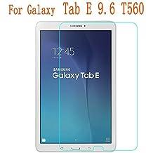 InShang Samsung Galaxy Tab E 9.6 inch T560 Protector de la Pantalla de Cristal Templado,Super resistente al impacto Protectora de pantalla ultra-claro de alta sensibilidad,Tempered Glass Screen protector