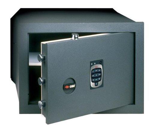 CAJA DE SEGURIDAD EN WALL ELECTRONICA (82 710 40) CISA 42X20XH30 CM