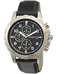 Fossil Dean Chronograph Black Dial Men's Watch-FS4545